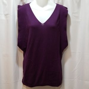 Millau sleevless knit top Size S